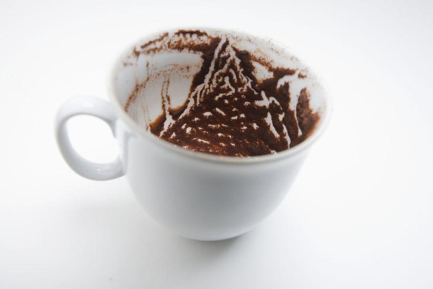 Leggere il futuro con fondi di caffè