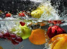 come lavare frutta verdura