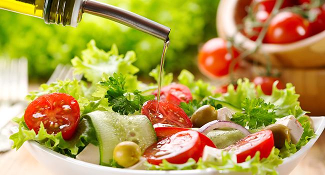insalata olio d oliva ricetta ideale pressione alta