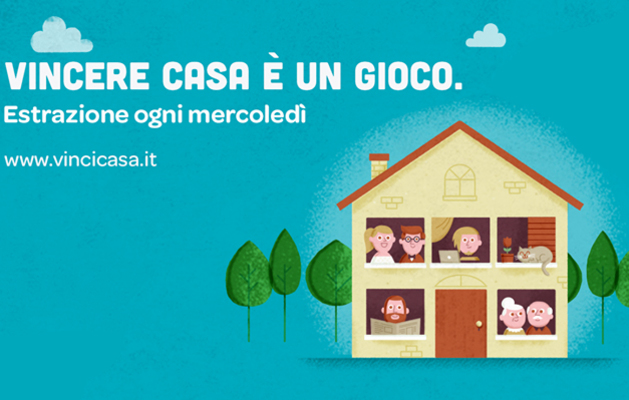 Vinci  casa con Win for Life