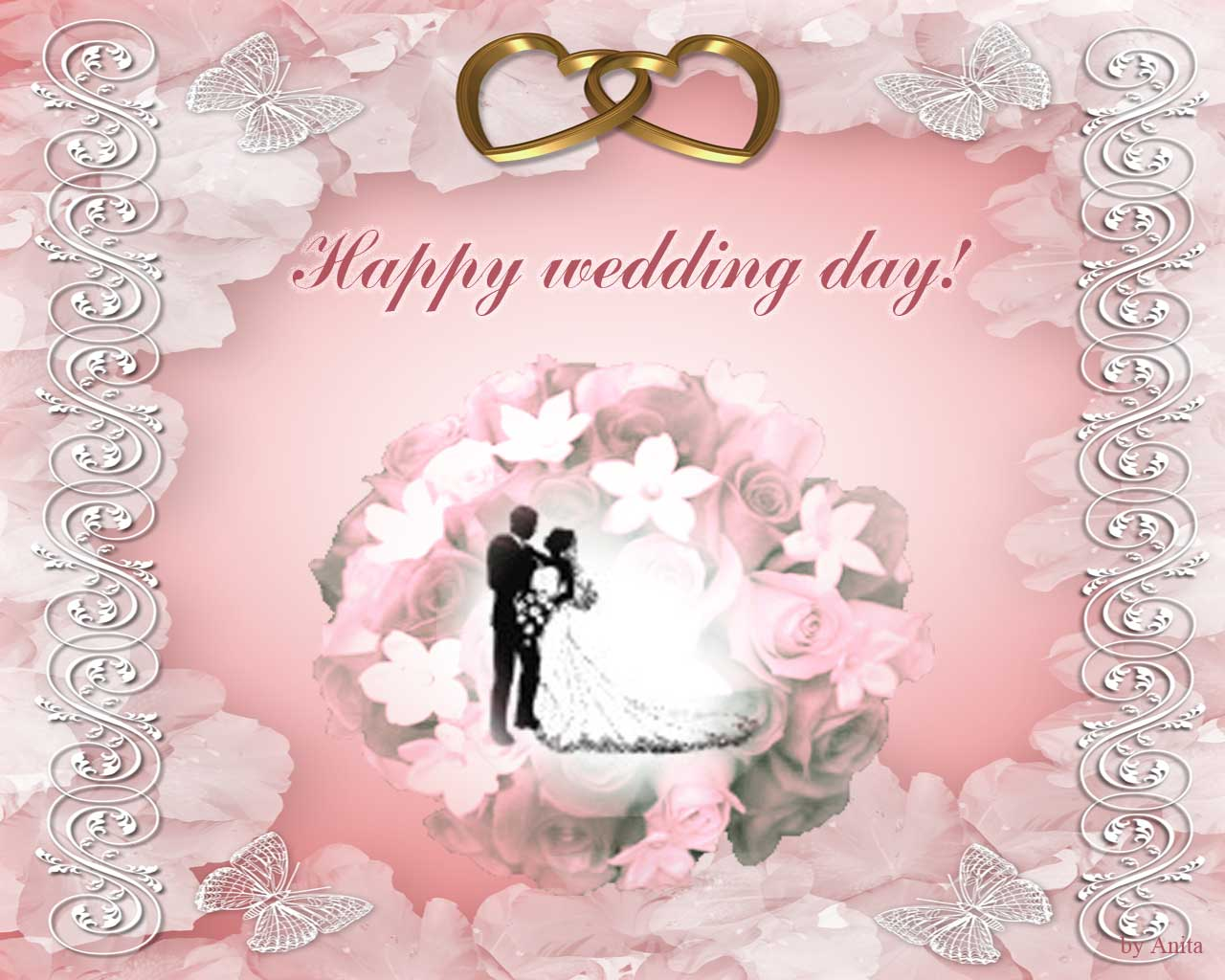 Happy wedding day wishes