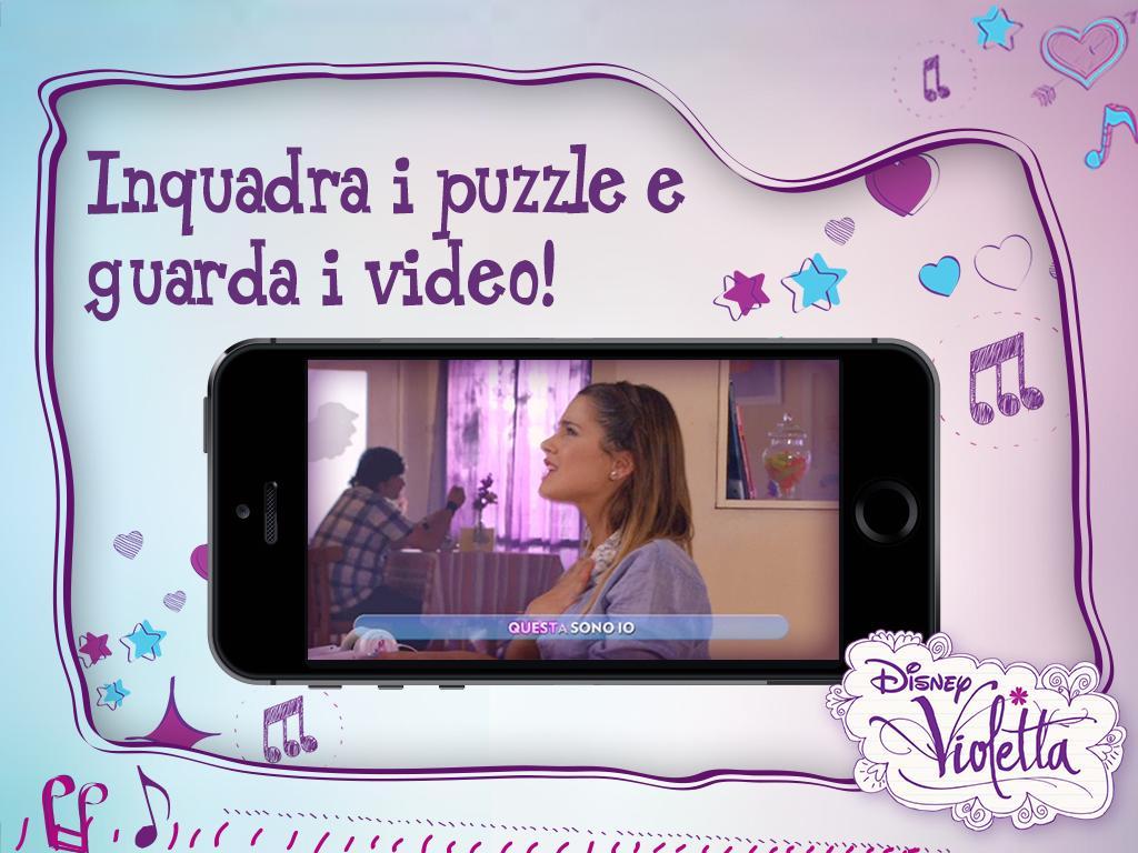 Fan di Violetta: tranquille ora è app