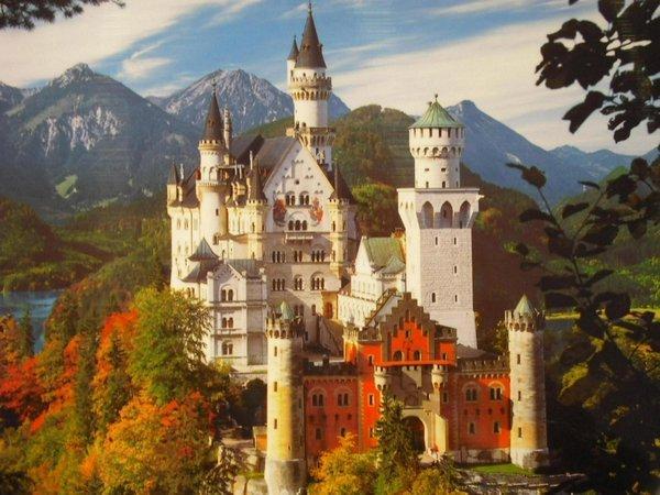 Neuschwanstein a fairytale 0