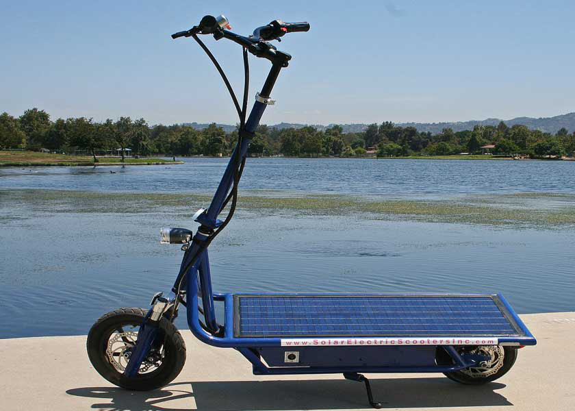 SolarElectricScooter