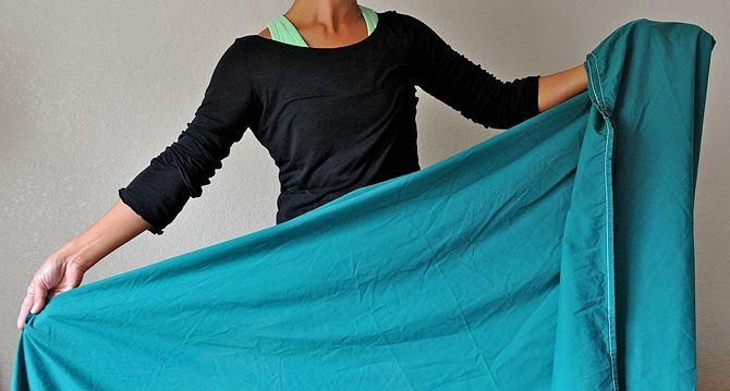 Come si piegano le lenzuola con angoli