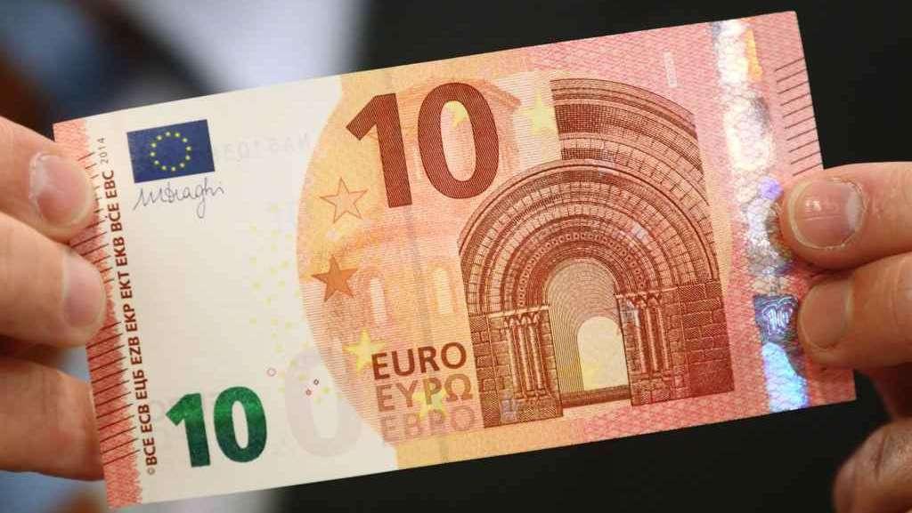 Dieci euro: nuova banconota