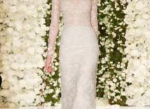 abito da sposa effetto nude reem acra