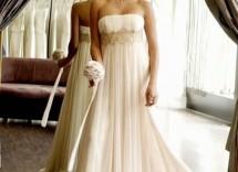 abito da sposa stile impero 2012