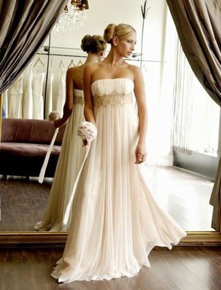 Abito da sposa stile impero 2012 donne magazine for Stile impero arredamento