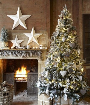 Stile Shabby Chic Natale.Albero Di Natale In Stile Shabby Chic Country Donne Magazine