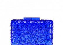 clutch a scrigno blu elettrico