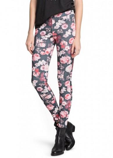 Come indossare i leggings a fiori