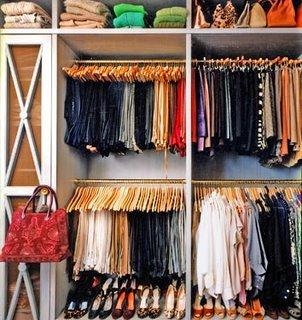 Come ottimizzare gli spazi nell'armadio