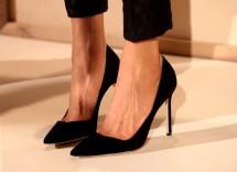 scarpe con tacco nere BZ19