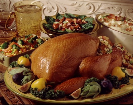 Menù per festa del Ringraziamento