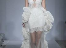 vestito da sposa con trasparenze pnina tornai