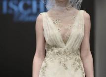 vestito da sposa effetto nude badgley mischka