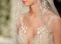 vestito da sposa effetto nude reem acra