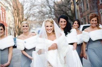 Come vestirsi per matrimonio in inverno