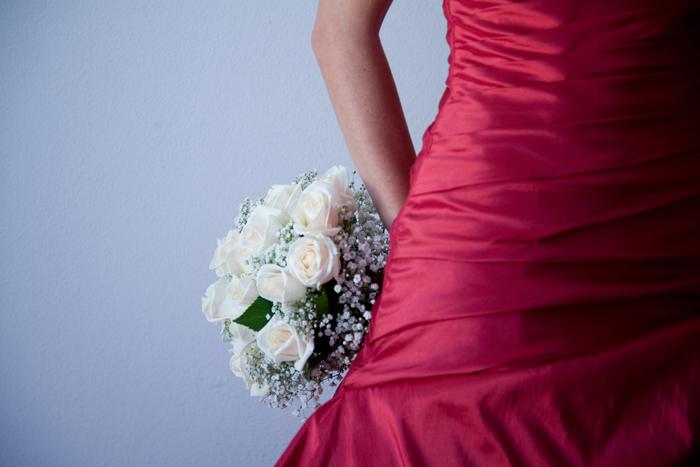 Perché scegliere l'abito da sposa rosso?