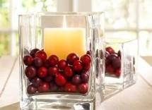 Idee centrotavola Natale con frutta secca