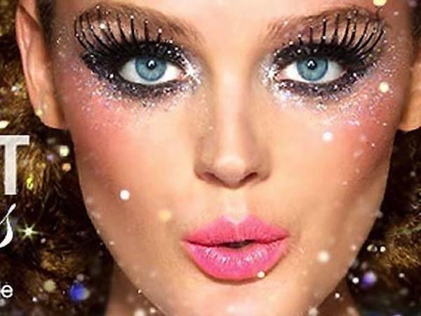 Make up silver di Capodanno