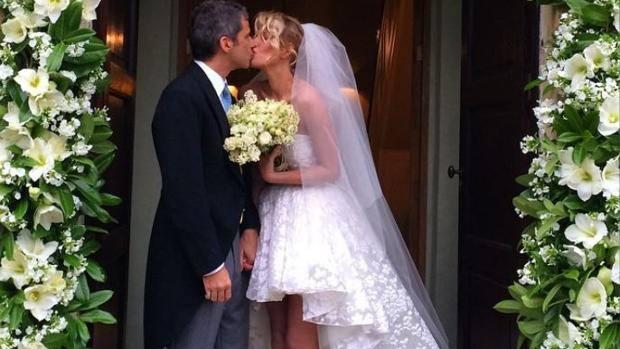Look sposa Alessia Marcuzzi