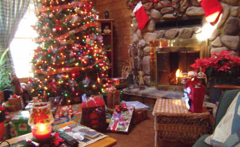 Decorazioni country camino natale donne magazine - Natale country decorazioni ...