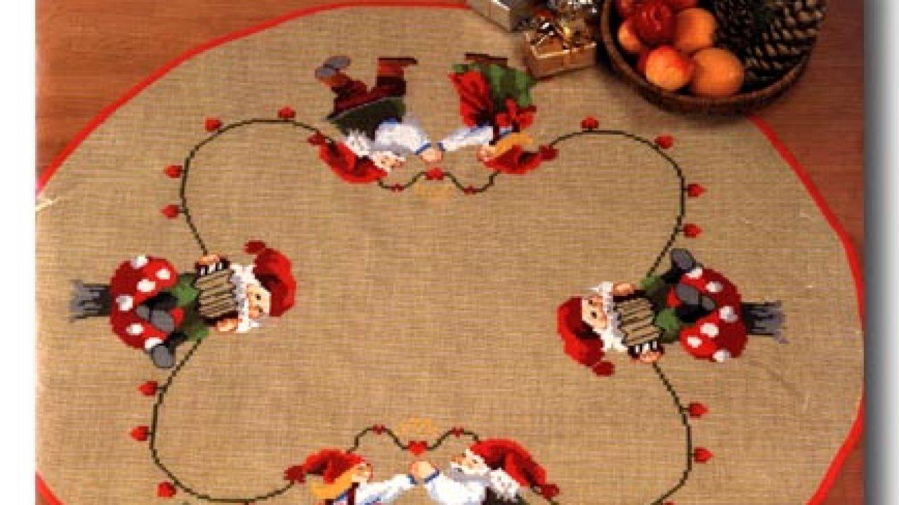 Idee Regalo Natale Punto Croce.Idee Centrotavola Natale Punto Croce Donne Magazine