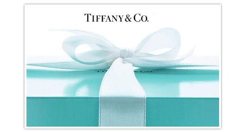 Idee regalo donna Natale Tiffany