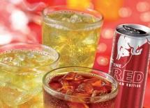 Quante calorie contiene un cocktail vodka Red Bull pesca