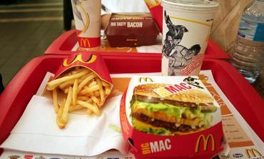 Come bruciare calorie  panino McDonalds