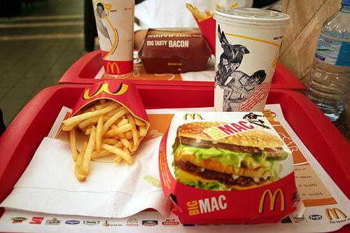 calorie mcdonalds