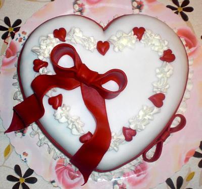 Cinque decorazioni per torte san valentino donne magazine - Decorazioni natalizie per torte ...