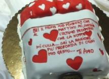 Cinque decorazioni per torte San Valentino
