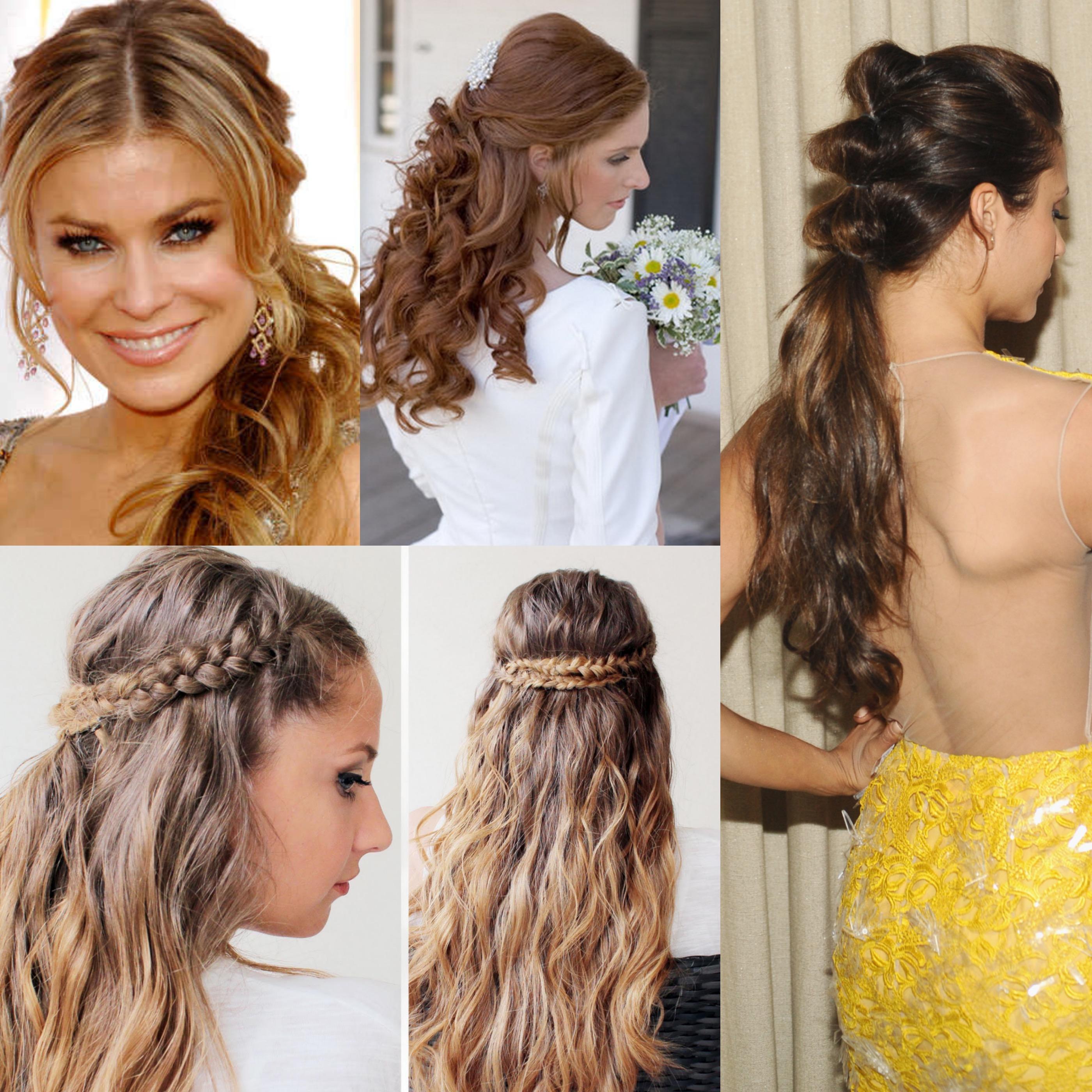 Dieci pettinature per capelli lunghi e mossi