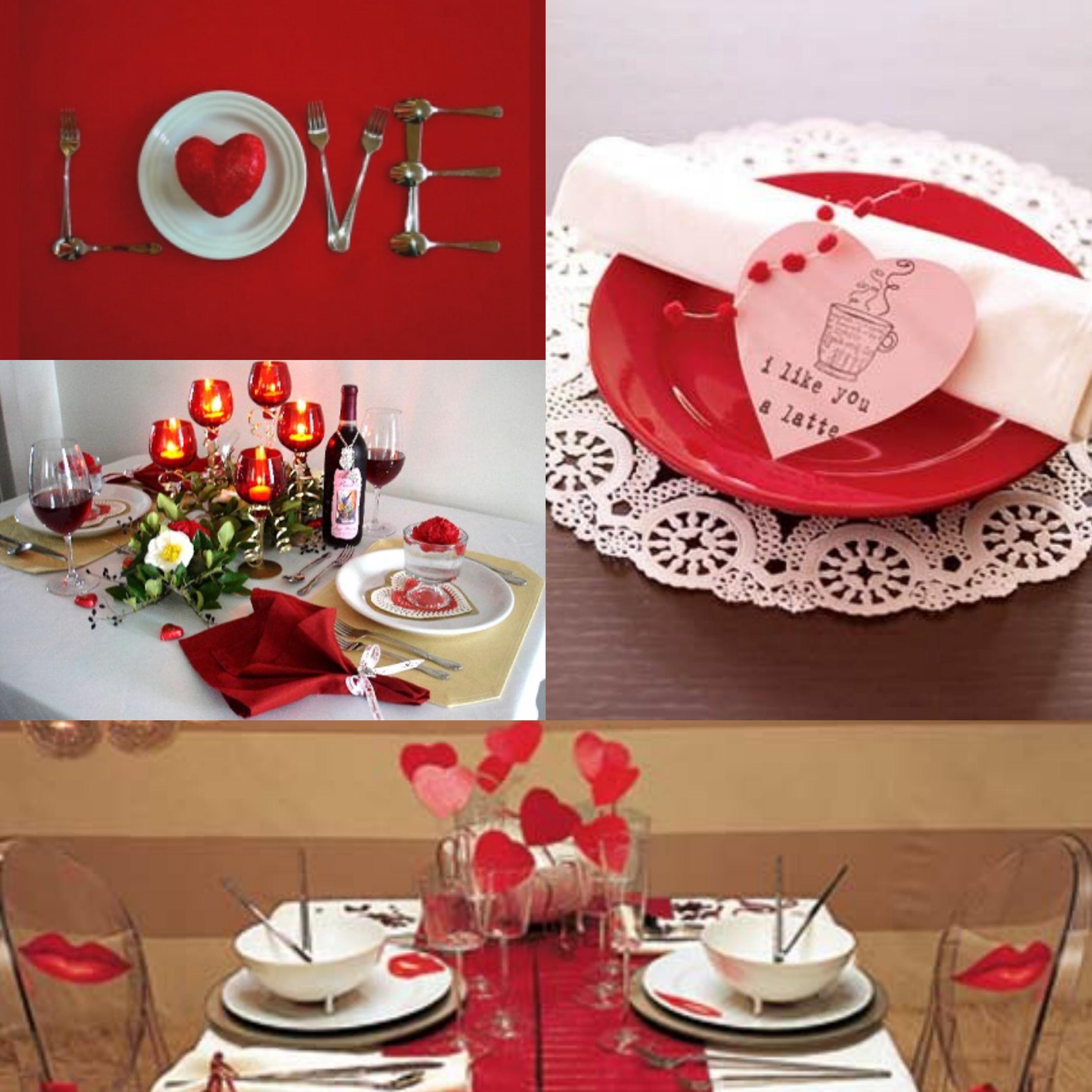 Come apparecchiare tavola romantica per quinto anniversario fidanzamento