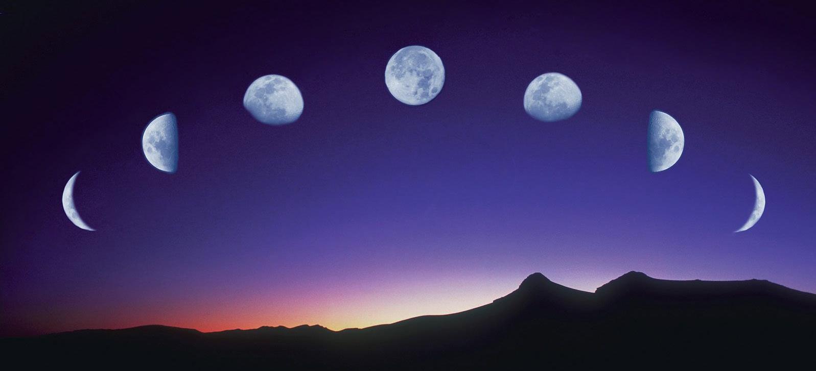 Come calcolare le fasi lunari