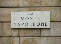 Negozi Boutique alta moda Via Monte Napoleone Milano