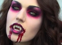Tutorial trucco vampiro per Carnevale 2015
