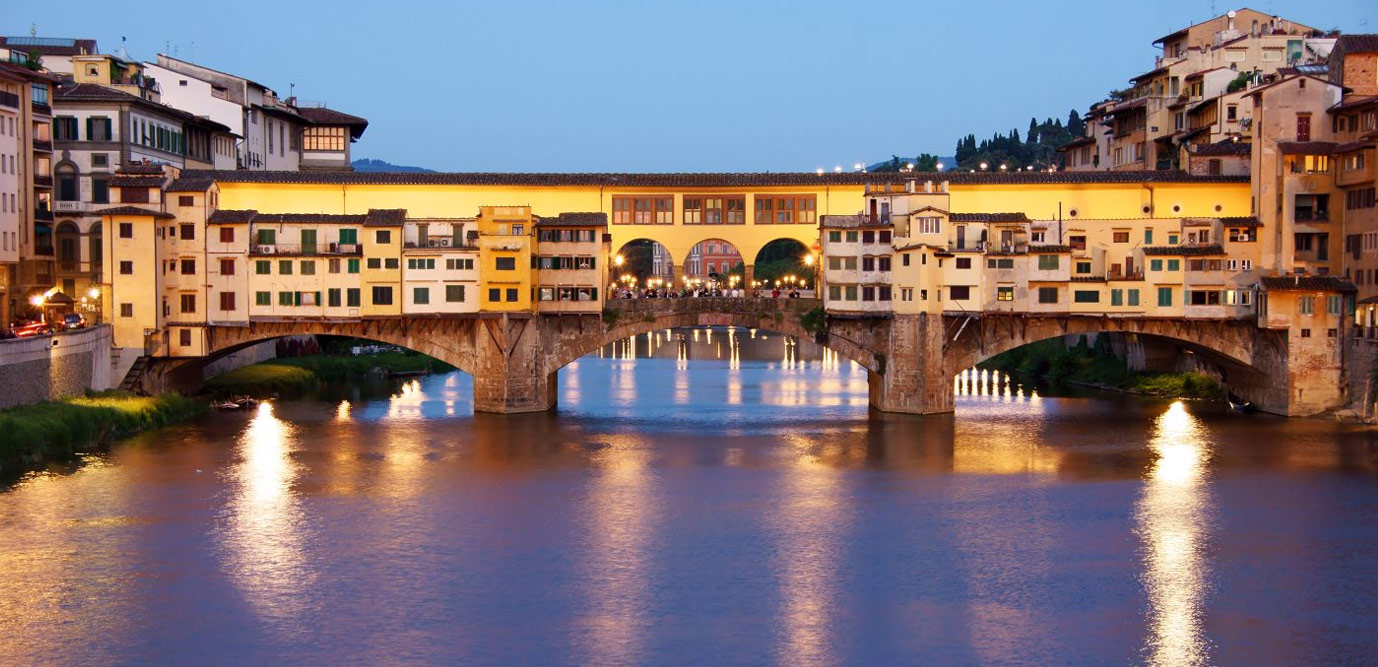 Vie dello shopping boutique alta moda a Firenze