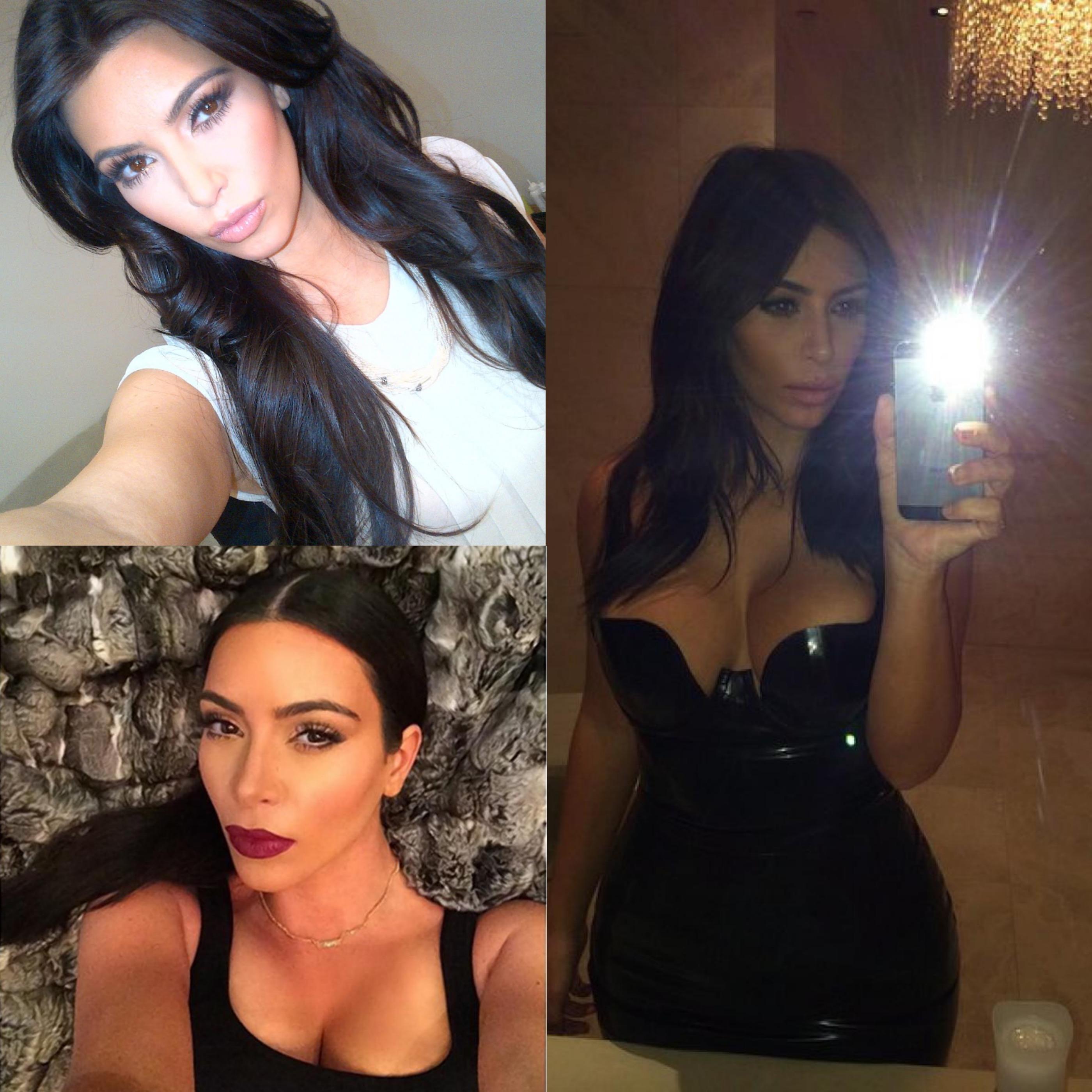 Le regole del selfie perfetto di Kim Kardashian