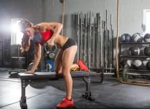 Esercizi crossfit fisico asciutto Elisabetta Gregoraci