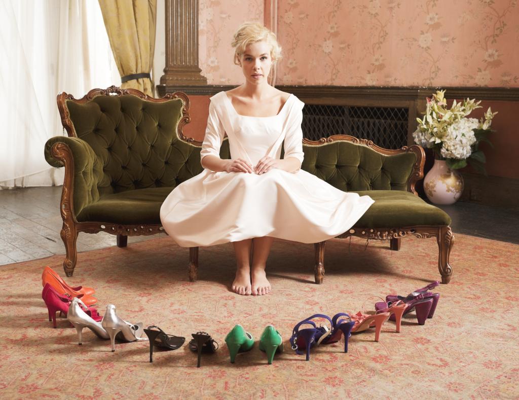 Idee scarpe sposa colorate