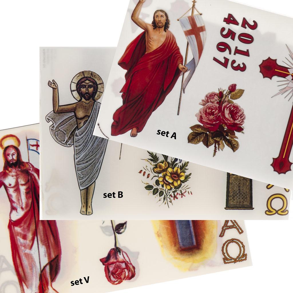 Come imbellire pareti decorazioni adesive fai da te Pasqua