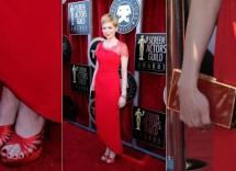 Quale colore scarpe abbinare con abito rosso da sera