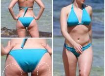 Classifica 10 donne vip bikini con cellulite