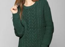 Come abbinare maglione verde bosco
