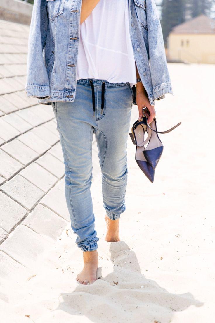 Come abbinare jeans gym