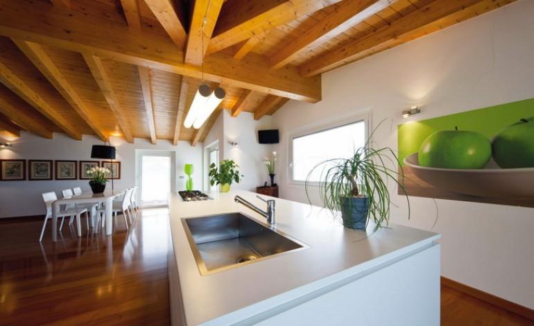 Quali prodotti per pulire soffitto con travi di legno a vista commenta